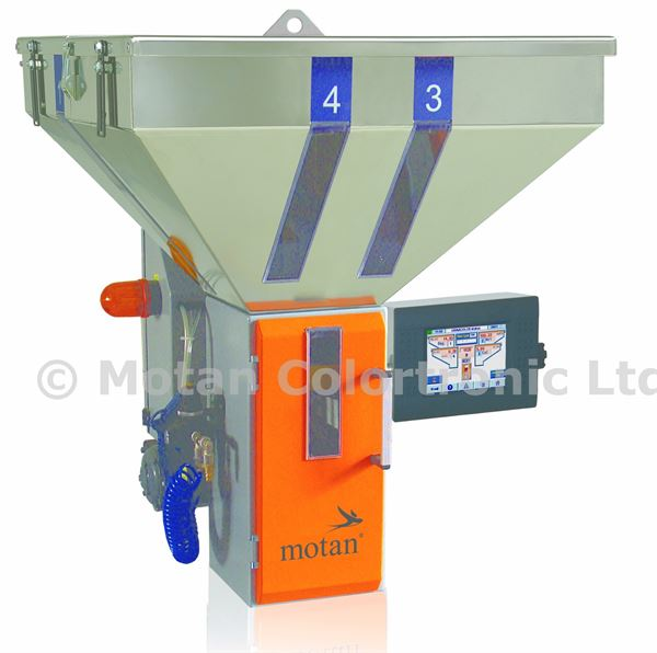 Picture of GRAVICOLOR 60 - 4 STATION BATCH BLENDER (WITH MANUAL GATE VALVE)